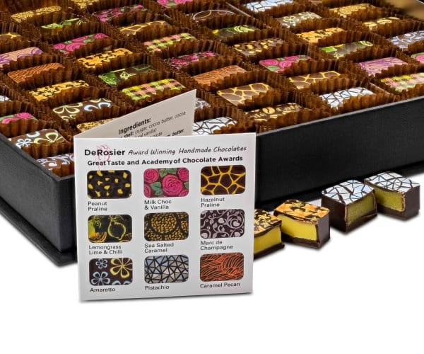 handmade chocolate boxes