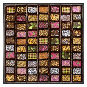 Box of 70 chocolates