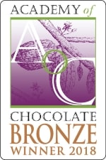 Academy of Chocolate bronze winner award