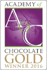 Academy of Chocolate Gold winner award