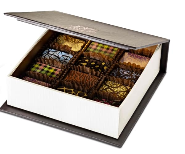 Chocolate Box of 12 Side