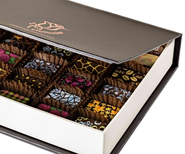 Chocolate Box of 24 Side