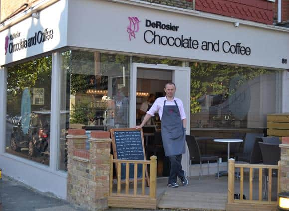 award winning chocolatier