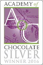 Academy of Chocolate silver winner award