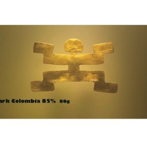 Chocolate Bar Wrappers Dark Colombia narrow
