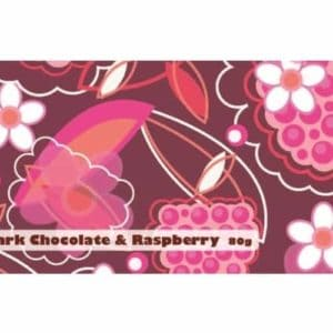 Chocolate Bar Wrappers Dark Raspberry narrow