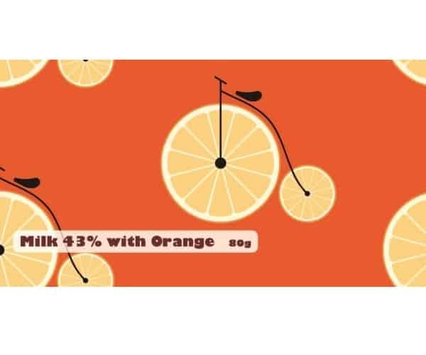 Milk 43% with Orange