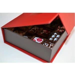 Christmas 12 chocolates side