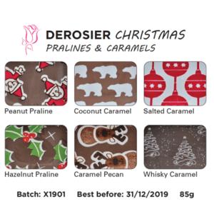 Christmas chocolates box flavours