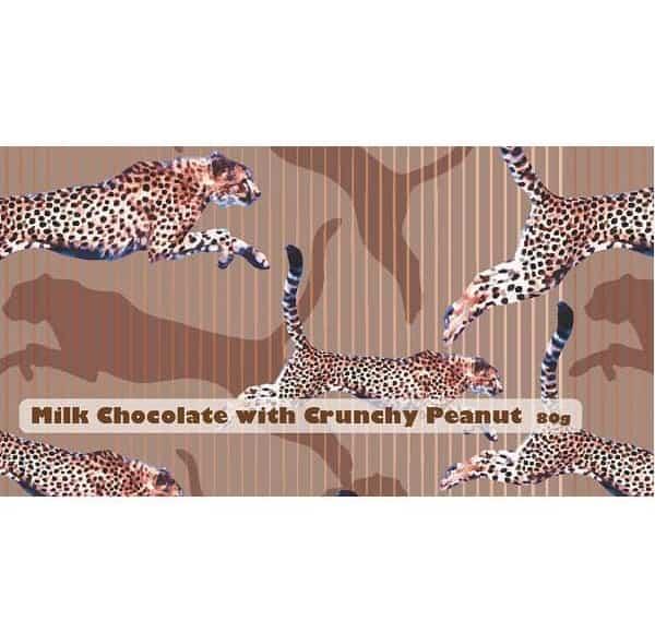 milk chocolate crunchy peanut bar