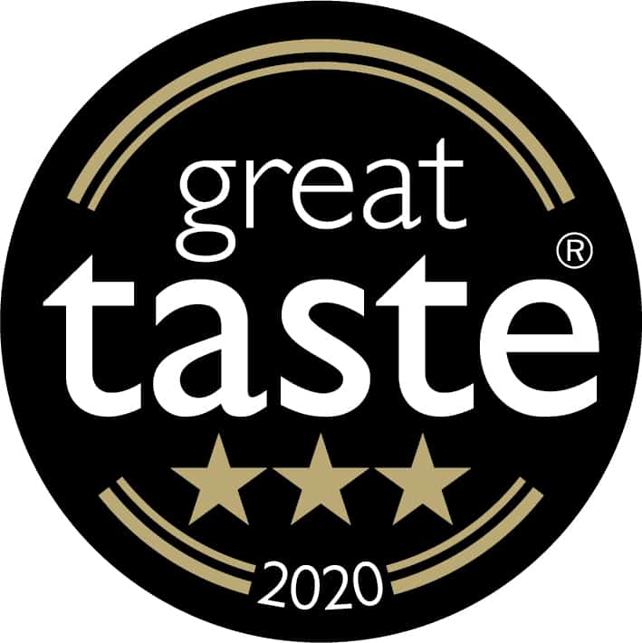 Great Taste Award 3 stars
