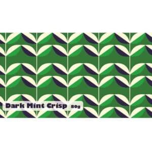 dark mint crisp chocolate bar