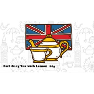 Earl Grey Tea with Lemon chocolate bar